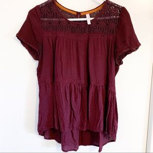 Women's High-Low Blouse